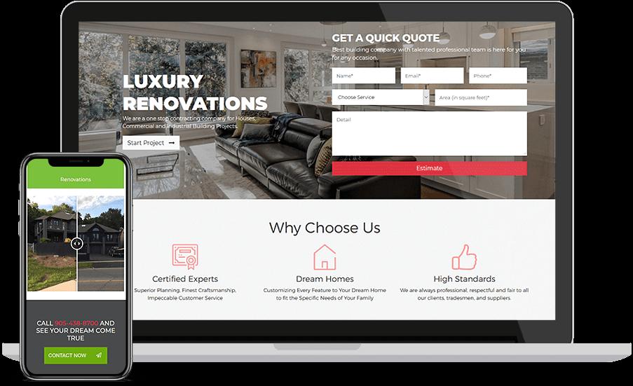Real Estate Website Design Development Proximate Solutions