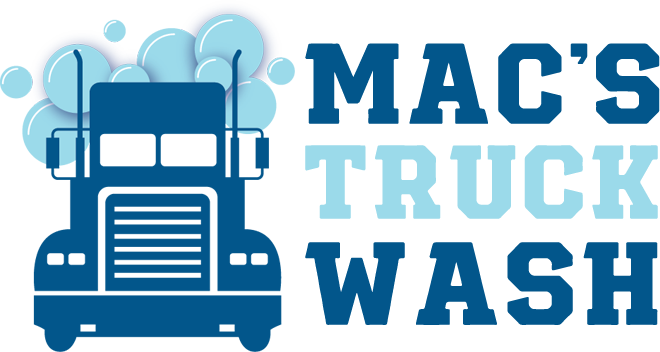Macs Truck Wash Logo