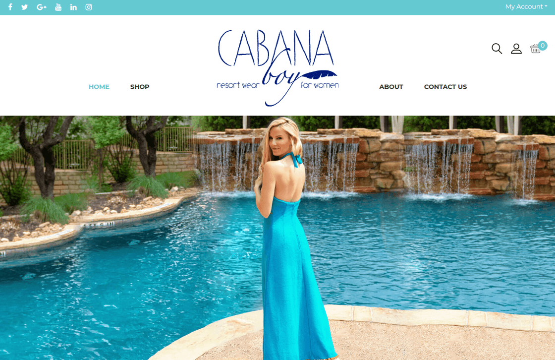 Cabana Boy Resort Wear