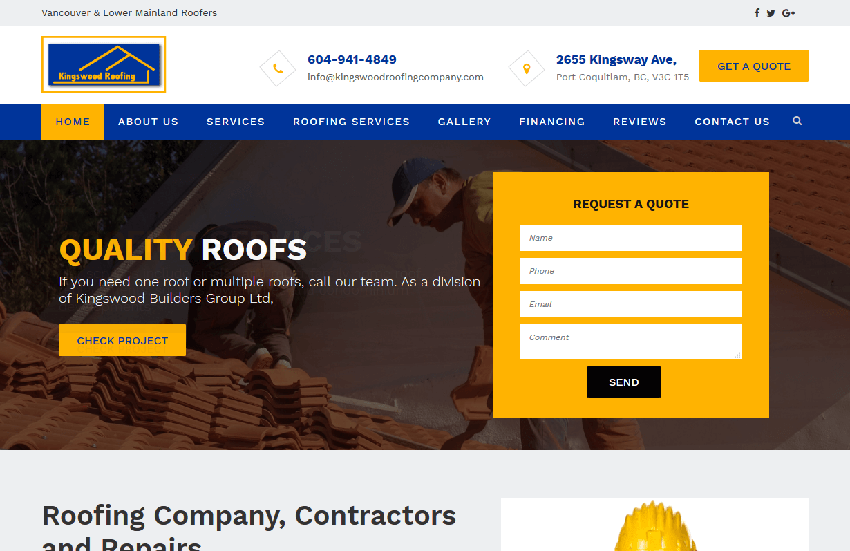 Kingswood Roofing Company