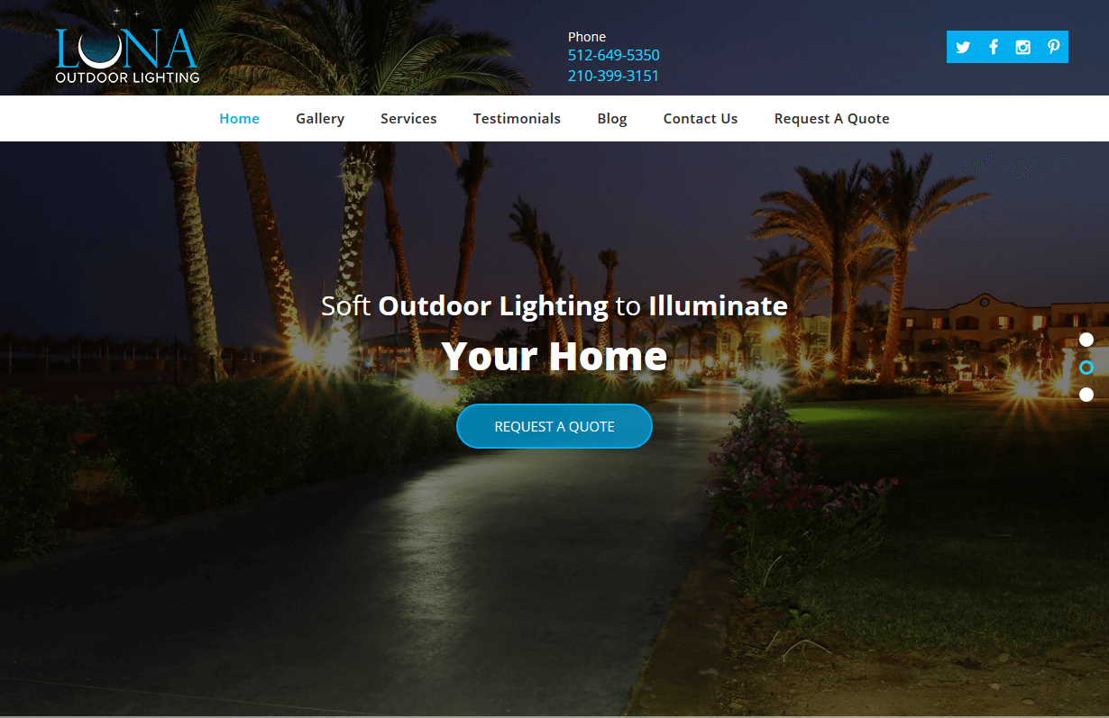 Luna Outdoor Lighting