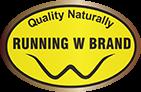 Running W Meats Logo