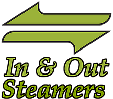 In & Out Steamers Logo