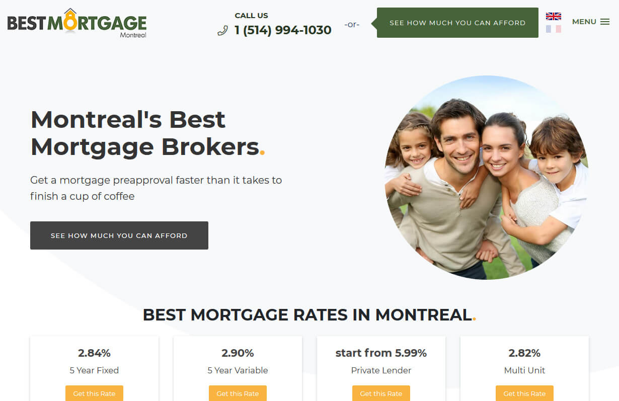 Best Mortgages Montreal