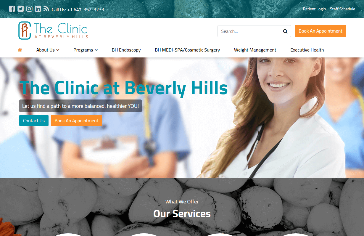 The Clinic At Beverly Hills