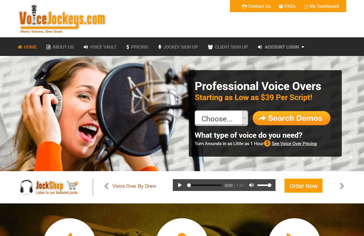 Voice Jockeys