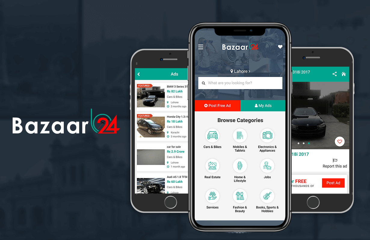 Bazaar 24 - Mobile App
