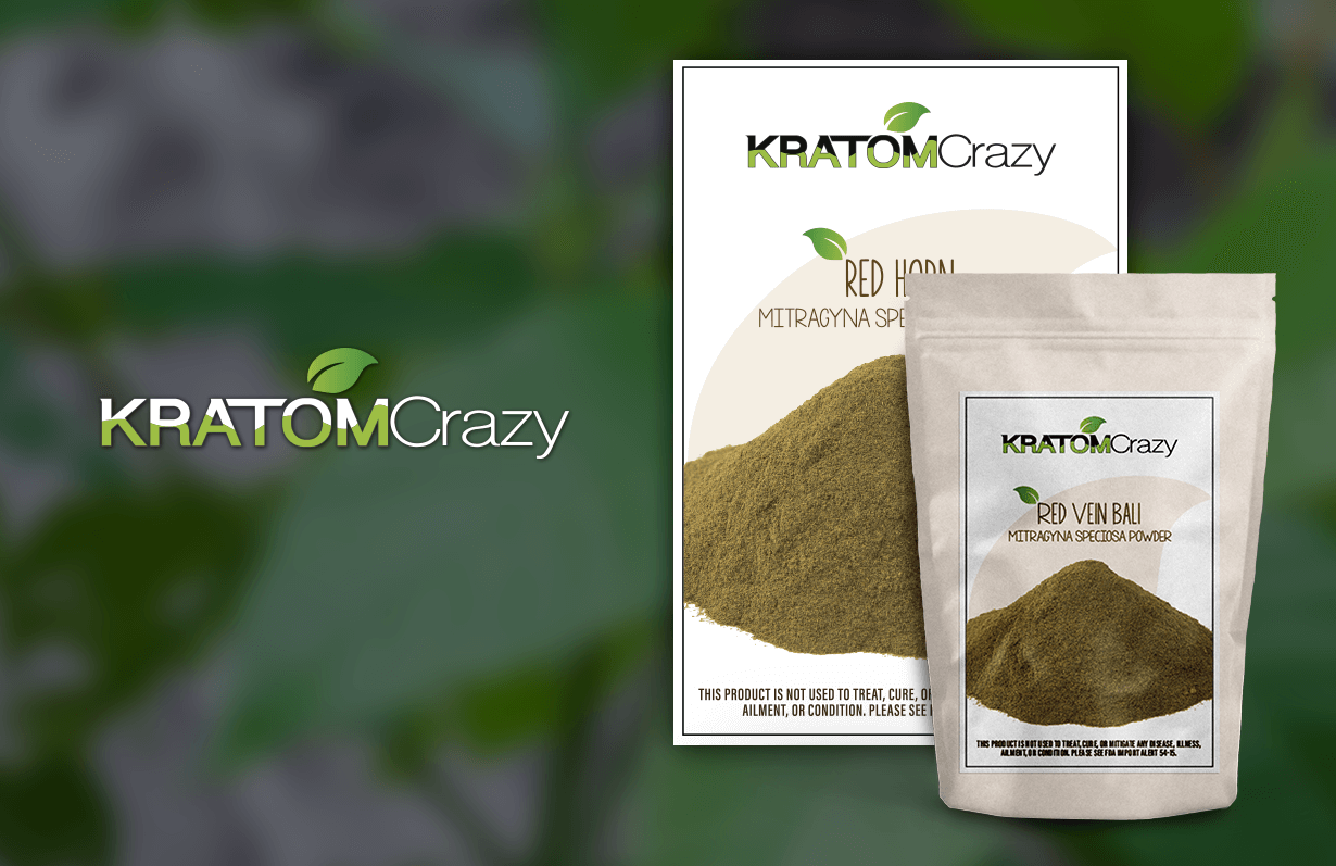 Kratom Crazy - Print & Packaging Design