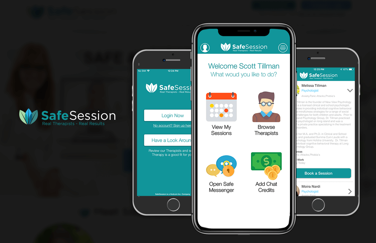 SafeSession - Mobile App