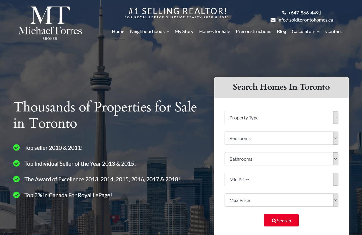 Sold Toronto Homes