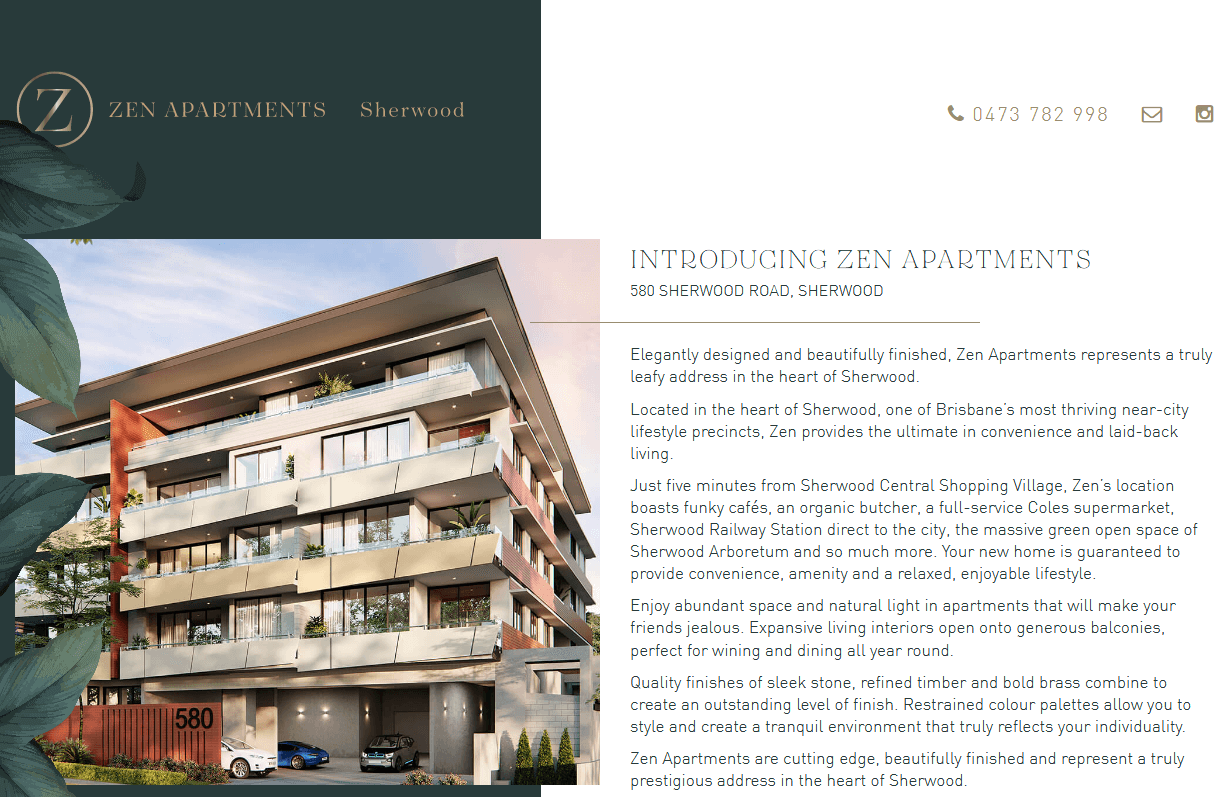 Zen Apartments