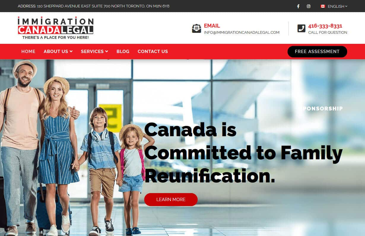 Immigration Canada Legal