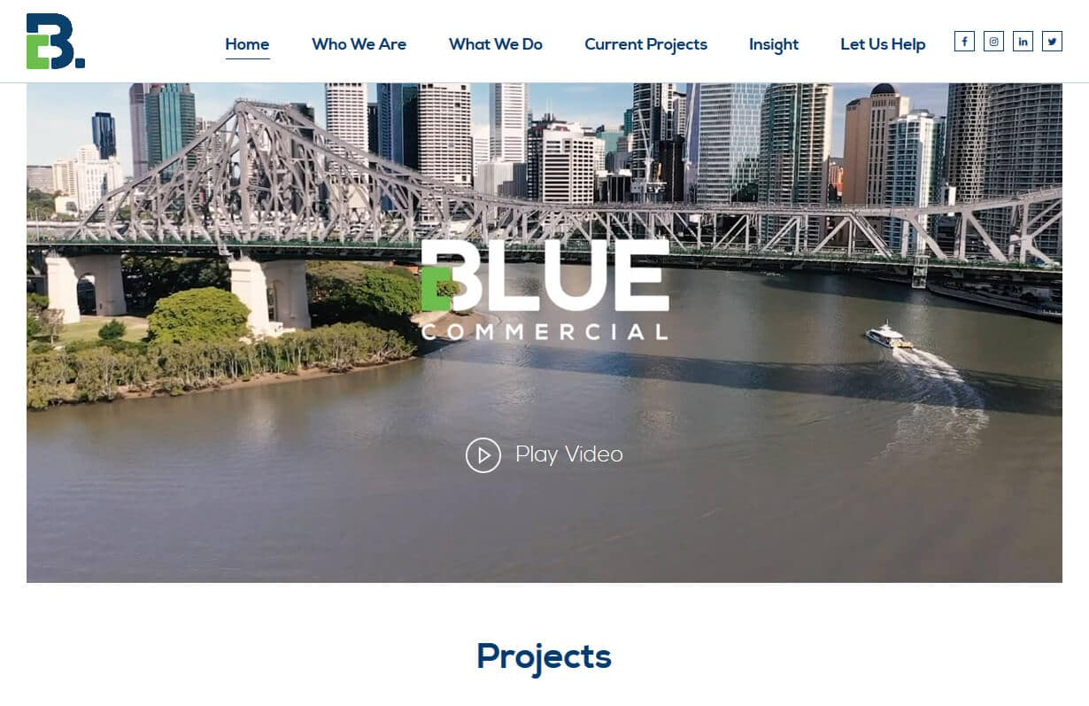 Blue Commercial