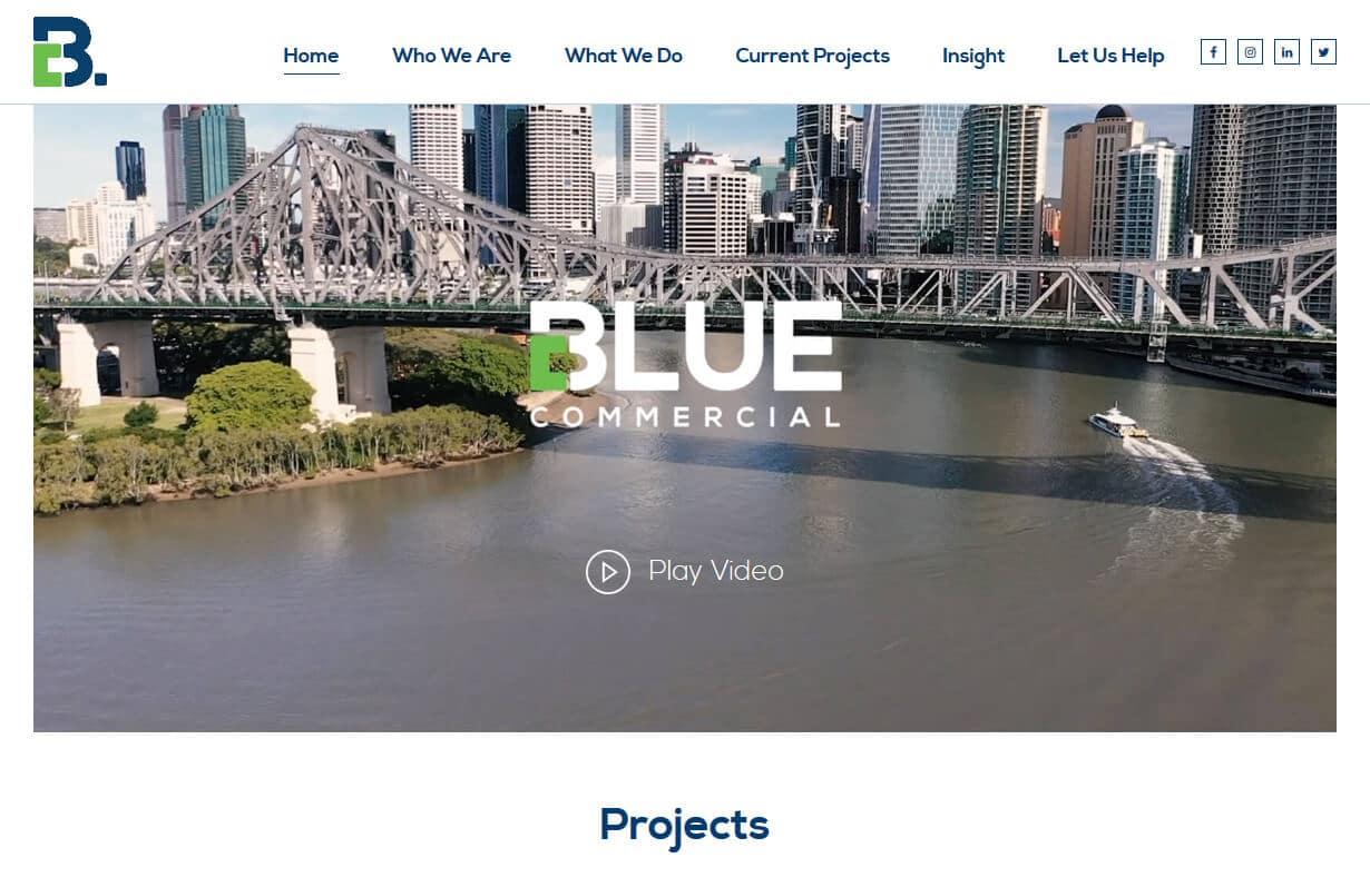 Blue Commercial